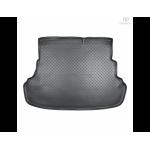Коврик в багажник Hyundai Solaris ( автом.со складыв.сиден.) (10-) резиновые Norplast