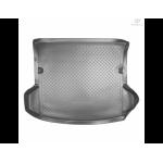 Коврик в багажник Mazda CX-7 (06-) резиновые бежевые Norplast