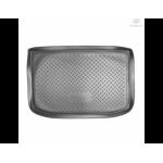 Коврик в багажник Mercedes А 170 хетчбек (04-) резиновые Norplast
