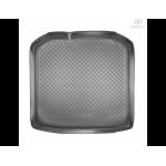 Коврик в багажник Skoda Fabia универсал (07-) резиновые Norplast