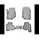 Коврики Chevrolet Trail Blazer (06-) резиновые Norplast