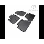 Коврики Ford C Мах (07-) резиновые Norplast