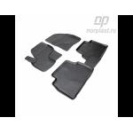 Коврики Ford Kuga (08-) резиновые Norplast