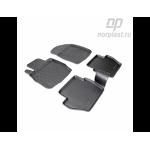 Коврики Ford Fiesta (08-) резиновые Norplast