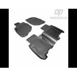 Коврики Honda Jazz (04-) резиновые Norplast