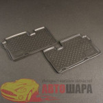 Коврики в салон Hyundai ix55 3 ряд (09-) полиуретан пар - Norplast