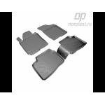 Коврики Kia Ceed (10-) резиновые Norplast