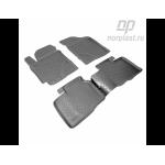 Коврики Kia Cerato (10-) резиновые Norplast