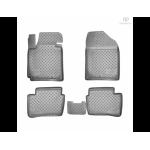 Коврики Kia Picanto (11-) полиуретановые комплект - Norplast