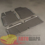 Коврики в салон Lexus CT 200h (11-) полиуретан комплект - Norplast