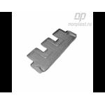 Коврики Lexus GX 460 резиновые 3-й ряд Norplast