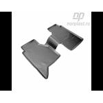 Коврики Nissan Navara задние (05-) полиуретановые комплект - Norplast