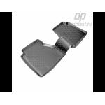 Коврики в салон Nissan Navara задниелюкс (05-) полиуретан пар - Norplast