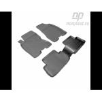 Коврики Nissan X-Trail (07-) резиновые Norplast