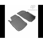 Коврики Opel Combo передний (03-) резиновые Norplast