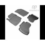 Коврики в салон Peugeot 107 (05-) полиуретан комплект - Norplast