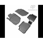 Коврики Peugeot 207 (06-) резиновые Norplast