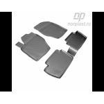 Коврики Peugeot 307 (01-) резиновые Norplast