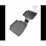 Килимки Skoda Roomster (5J) (06-) поліуретанові зад - Norplast