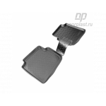 Коврики Skoda Roomster (5J) (06-) полиуретановые зад - Norplast