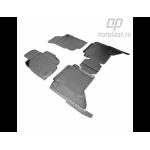 Коврики Toyota Hilux (11-) полиуретановые комплект - Norplast