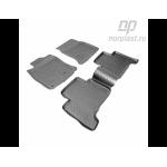 Коврики Toyota LC-Prado 120 (02-10) резиновые Norplast