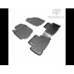 Коврики Toyota RAV4 (05-) резиновые Norplast