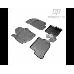 Коврики Volkswagen Golf+ (05-) резиновые Norplast