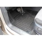 Килимки в салон VW Passat CC 02 / 2009-, 4 шт. (Поліуретан, бежеві) Novline