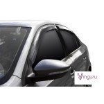 Дефлекторы окон Volkswagen Jetta VI 2010- седан накладные скотч к-т 4 шт. - Novline