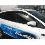 Дефлекторы окон 4 door FORD KUGA 2013- - Novline