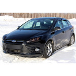 Дефлекторы окон 4 door FORD FOCUS III седан, хетчбек 5-door 2011- - Novline