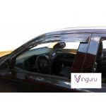 Дефлекторы окон Mitsubishi Outlander NEW 2012- накладные скотч к-т 4 шт., VinguruVinguru