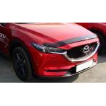 Дефлектор капота Mazda CX5, 17-, темный - Novline