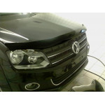 Дефлектор капота темный VW AMAROK 2010- - Novline