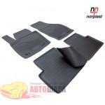 Коврики Audi Q3 (8U) (11-) резиновые бежевые Norplast