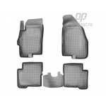 Коврики Fiat Linea резиновые Norplast