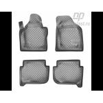 Коврики Volkswagen Touran (03-)/(10-) резиновые Norplast