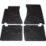 Резиновые коврики OPEL OMEGA A черные 4 шт - Petex