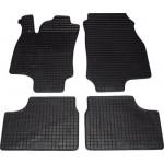 Резиновые коврики OPEL ASTRA G 1998 черные 4 шт - Petex