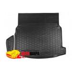 Ковер в багажник MERCEDES W 213 (седан) - резиновый Avto-Gumm