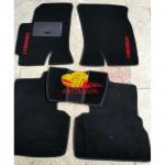 Коврики текстильные CHEVROLET EPICA 2006- черные в салон