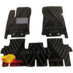 Коврики текстильные INFINITI L50 (QX60) (2012>) (5мест) в салон - композитные - Avto-Tex (Avto Gumm)