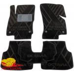 Коврики текстильные SKODA Octavia A7 (2013>) в салон - композитные - Avto-Tex (Avto Gumm)
