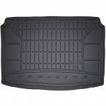 Резиновый коврик в багажникFrogum Pro-Line для Skoda Fabia (mkI)(хэтчбек) 1999-2007 (без двухуровневого пола)(багажник)
