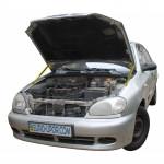 Газовый упор капота для Daewoo Lanos 2 упора 1998+ 2шт. 2 упора