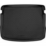 Коврик в багажник SEAT Ateca 2016 -> верхний, с регулируемым полом, 1 шт. - Novline