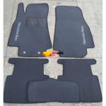 Коврики текстильные MERCEDES A-Class W169 с 2004-2011 серые в салон