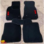 Коврики текстильные AUDI A6 1997-2005 черные в салон