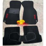 Коврики текстильные AUDI A4 с 2001-2008 черные в салон
